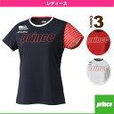 [プリンス テニス・バドミントンウェア(レディース)]Tシャツ/レディース(WL6076)