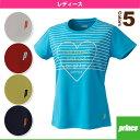 [プリンス テニス・バドミントンウェア(レディース)]Tシャツ/レディース(WL6093)