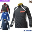 【野球 ウェア(メンズ/ユニ) ミズノ】ミズノプロ ウォームアップシャツ(12JC6R01)