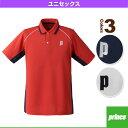 [プリンス テニス・バドミントンウェア(メンズ/ユニ)]ゲームシャツ/ユニセックス(TMU156T)
