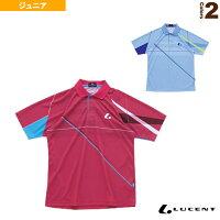 【テニス ジュニアグッズ ルーセント】 ゲームシャツ/ジュニア(XLP-807)の画像