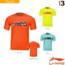 【バドミントン ジュニアグッズ リーニン】 トレーニングTシャツ/ジュニア(AHSM122)