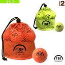 【ゴルフ ボール 飛衛門】 メッシュバッグ入り スタンダード 2ピースボール/12球入/カラー(TBM-2MB)