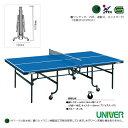 【卓球 コート用品 ユニバー】[送料別途]卓球台/内折・連動式(VM-22DX)