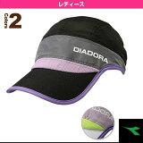 【2014年モデル】W GRACEFUL コンペティションキャップ/レディース - TA4740 [テニスキャップ?帽子 ディアドラ/DIADORA]