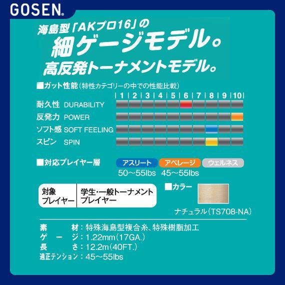 【テニス ストリング(ロール他) ゴーセン】ウ...の紹介画像3