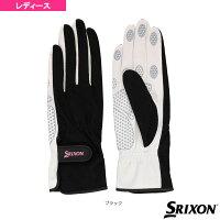 【テニス アクセサリ・小物 スリクソン】 テニスシリコンプリントグローブ/両手セット/レディース(SGG2550)手袋の画像