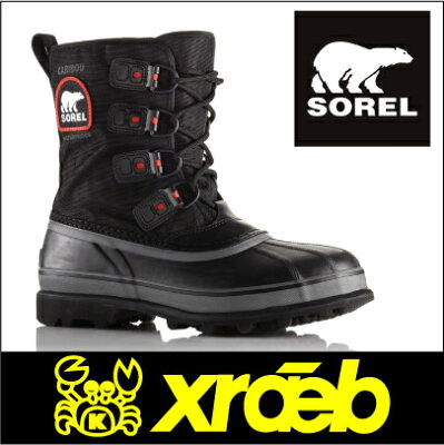������̵������¨��ȯ����ǽ����SOREL/CaribouXT��MEN`S�˥����/����֡�XT�ʥ�󥺡˥����󥿡��֡���/�ɴ��֡���/���Ρ��֡���NM2138-010��RCP��1017