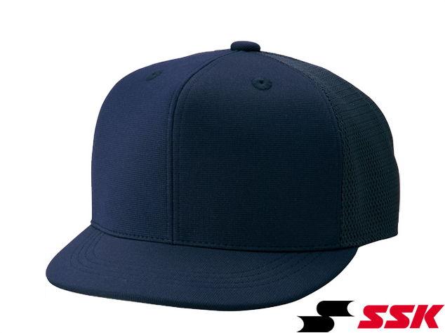 審判帽子六方半メッシュタイプSSK/エスエスケイ野球キャップ主審・塁審兼用BSC45