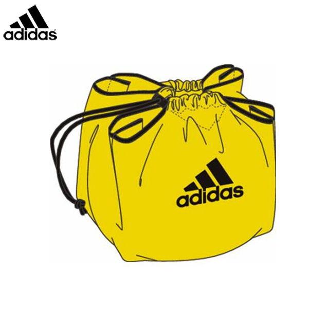 サッカーボールバッグアディダス新型ボールネット黄adidas2017SSABN01Y