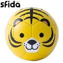 ミニボール 1号球 トラ スフィーダ SFIDA FOOTBALL ZOO BSFZOO06-02 BSF-ZOO06-02※返品・交換不可商品※