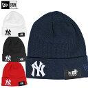 NEW ERA ニューエラ / YANKEES LOGO BEANIE CAP 4COLOR ヤンキースロゴ ビー二ーキャップ 全4色 帽子 ワッチキャップ ニット帽 小物 キャップ アクリル レディース ファッション 刺繍