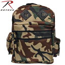 ROTHCO ロスコ / DELUXE WATER RESISTANT DAY PACK CAMO デラックスウォーターレジスタントデイパック カモ