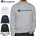 CHAMPION チャンピオン / トレーナー クルースウェット ロゴスウェット CREW SWEAT LOGO C3-H004 薄手 チャンピオン 長袖 インナー USA モデル メンズ