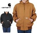 CARHARTT ダックフードジャケット [カーハート] アウター サーマルインナー ヘビーアウター メンズ ワークスタイル DUCK JACKET パーカ…
