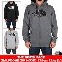 THE NORTH FACE ジップパーカー [ノースフェイス] パーカー フーディー ロゴ ジップアップ 裏起毛 ハーフドーム Half Dome full Zip Ho…