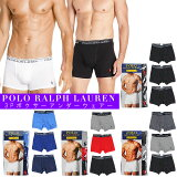 POLO RALPH LAUREN �ݥ���ե?��� / STANDARD COTTON BOXER PANTS 3SET PACK 4COLORS ����������� ���åȥ� �ܥ������ѥ�� 3�祻�å� ��4�� ���� ���� ���ȥ꡼�ȥե��å���� ��� ����ץ� ���ݥ���� ̵�� �礭�������� �ӥå�������
