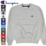 チャンピオン [CHAMPION] エコフリース クルーネック スウェット ワンポイント 全12色 薄手 USAモデル アメリカ アメカジ 大きいサイズ 小さいサイズ 豊富に取り揃え