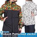 コロンビア マウンテンパーカージャケット メンズ レディース COLUMBIA ナイロンジャケット ワバシュパターンドジャケット Wabash Patterned Jacket アウトドア ファッション ブランド 総柄 防水加工 PM5352