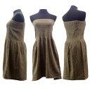 あす楽 丸栄タオル イデゾラ バスドレス ショート IZ0339 チューブトップ idee Zora 今治タオル