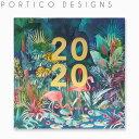 ポルティコデザイン 壁掛け カレンダー 2020 カレンダー PORTICO DESIGNS 2020 CALENDARブランド デザイナーズ マンスリー カレンダー UK イギリス C19125ギフト プレゼント
