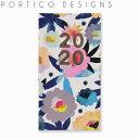 ポルティコ デザイン 手帳(スケジュール帳)スリム ダイアリー ブーケ 2020 PORTICO DESIGNS SLIM DIARY BOUQUET 2020ブランド デザイナーズ UK イギリス D19533ギフト プレゼント