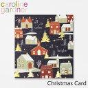 キャロラインガードナー グリーティングカード クリスマス カード caroline gardner Christmas Cardブランド デザイナーズ カード UK ロンドン PNT507ギフト プレゼント