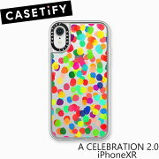 ケースティファイ アイフォン XR ケース ア セレブレイション 2.0 アイフォン XR CASETiFY A CELEBRATION 2.0 iPhone XRアイフォン ケース ブランド LAブランド スマホ ギフト プレゼント