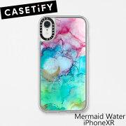 ケースティファイ アイフォン XR ケース マーメイド ウォーター アイフォン XR CASETiFY Mermaid Water iPhone XRブランド LAブランド MERMAID WATER GRIP iPhoneXRスマホ ギフト プレゼント