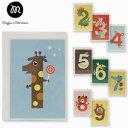全品対象クーポン配布中 マフィン アンド マリアン カード ナンバー バースデー カード Muffin & Marianne NUMBER BIRTHDAY CARDSブランド デザイナーズ グリーティングカード 北欧 海外 ノルウェー NBCギフト プレゼント 誕生日 お祝い