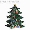 ライフルペーパー カレンダー クリスマスツリー・アドベントカレンダー RIFLE PAPER CO. Christmas Tree Advent Calendarブランド デザイナーズ USA アメリカ 海外 CAL050ギフト プレゼント 結婚祝い