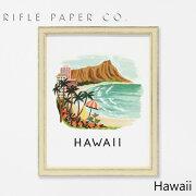 RIFLE PAPER CO. ライフルペーパー Hawaii ハワイアートプリント・ポスター ブランド デザイナーズ フレーム イン ポスター USA アメリカ APM028ギフト プレゼント