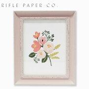 RIFLE PAPER CO. ライフルペーパー Rose pink S ローズ ピンク Sアートプリント・ポスター Sサイズ ブランド デザイナーズ フレーム イン ポスター USA アメリカ APM055ギフト プレゼント