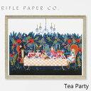 ライフルペーパー アートプリント・ポスター ティー パーティー RIFLE PAPER CO. Tea Partyブランド デザイナーズ フレーム イン ポスター USA アメリカ APM098ギフト プレゼント 父の日