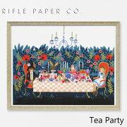 RIFLE PAPER CO. ライフルペーパー Tea Party ティー パーティーアートプリント・ポスター ブランド デザイナーズ フレーム イン ポスター USA アメリカ APM098ギフト プレゼント