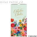 【2点以上で20%OFFクーポン配布中】ライフルペーパー 壁掛け カレンダー 2020 セレブレーション・カレンダー RIFLE PAPER CO. 2020 Celebration Calendarブランド デザイナーズ USA アメリカ 海外 CAL042ギフト プレゼント 結婚祝い