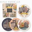 RIFLE PAPER CO. ライフルペーパー Coaster Set:Cities コースター セット シティコースター ブランド デザイナーズ USA アメリカ COA005ギフト プレゼント