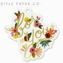 ライフルペーパー ギフトタグ フォー ユー フラワー ダイ カット タグ RIFLE PAPER CO. For You Flower Die Cut Tagブランド デザイナーズ USA アメリカ GTDM004ギフト プレゼント