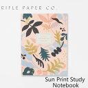 ライフルペーパー ノート サンプリント スタディ ノートブック RIFLE PAPER CO. Sun Print Study Notebookブランド デザイナーズ 罫線有り USA アメリカ JNM003ギフト プレゼント 父の日