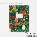 ライフルペーパー ノート テラッコッタ ノートブック RIFLE PAPER CO. Terracotta Notebookブランド デザイナーズ 罫線有り USA アメリカ JNM004ギフト プレゼント