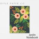 RIFLE PAPER CO. ライフルペーパー ノート Jardin Notebook ジャルダン ノートブックブランド デザイナーズ 罫線有り USA アメリカ JRM006ギフト プレゼント
