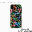 RIFLE PAPER CO. ещеде╒еые┌б╝е╤б╝ CLEAR MEADOW iPhone XS епеъев есе╔ее еведе╒ейеє XSеведе╒ейеє е▒б╝е╣ е╓ещеєе╔ USA евесеъелPIC059-XSе╣е▐е█ еое╒е╚ е╫еье╝еєе╚