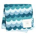 ライフルペーパー ハンカチ アマルフィ ウェーブ:ブルー RIFLE PAPER CO. Amalfi Wave:Blueブランド デザイナーズ ハンカチクロス USA アメリカ RHC045ギフト プレゼント