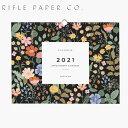 RIFLE PAPER CO.ライフルペーパー GARDEN 2021 WALL2021 カレンダー CALENDAR 壁掛け ウォールカレンダーCAL062-GARDEN 2021 WALLギフト プレゼント 母の日