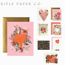 9/18 20時~9/30までポイントUP! RIFLE PAPER CO. ライフルペーパー greeting card グリーティングカード Valentine カード カード メッセージカード ブランド デザイナーズ USA アメリカ 海外 GCHVギフト プレゼント 誕生日 お祝い