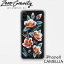 ゼログラビティ アイフォン ケース アイフォン テン カメリア ZEROGRAVITY iPhoneX CAMELLIAスマホ ケース ブランド LAブランド iPhoneX CAMELLIAスマホ ギフト プレゼント