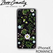 ZEROGRAVITY ゼログラビティ アイフォン ケース iPhoneX ROMANCE アイフォン テン ロマンスアイフォン ケース ブランド LAブランド iPhoneX ROMANCEスマホ ギフト プレゼント