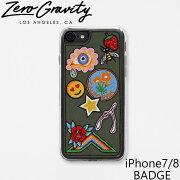 ZEROGRAVITY ゼログラビティ アイフォン ケース iPhone 7 / 8 BADGE アイフォン 7 / 8 バッジアイフォン ケース ブランド LAブランド iPhone7/8 BADGEスマホ ギフト プレゼント