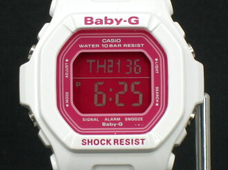 ★20% OFF★ CASIO/G-SHOCK/g-shock [Baby-G] candy color [CANDY COLORS] [watch for women] BG-5601-7JF/ white/ pink [fs01gm]
