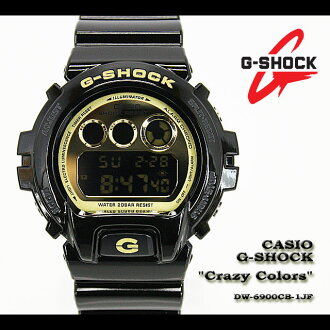 CASIO/G-SHOCK/g-shock g shock G shock G- shock [CRAZY COLORS] crazy colors watch /DW-6900CB-1JF/black [fs01gm]